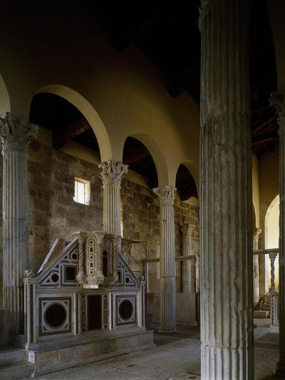 Church of Saint Peter, Interior, Massa D'Albe, Abruzzo, Italy--Giclee Print