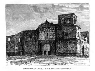 Church of San Francisco, Panama, Central America, 19th Century-Taylor-Giclee Print