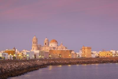 Church of Santa Cruz and Cathedral, Cadiz, Cadiz Province, Andalucia, Spain, Europe-Neil Farrin-Photographic Print