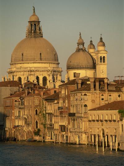Church of Santa Maria Della Salute, Seen across the Grand Canal, Venice, Veneto, Italy-Gavin Hellier-Photographic Print