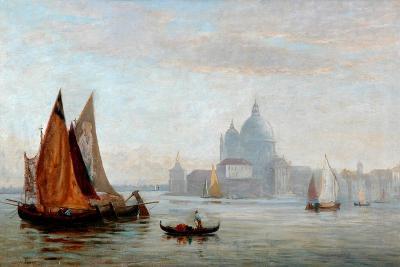 Church of Santa Maria Della Salute, Venice, 1875-Charles Edward Holloway-Giclee Print