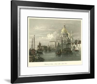 Church of Santa Maria Della Salute-W.L. Leitch-Framed Art Print