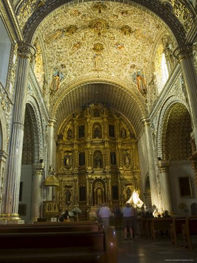 Church of Santo Domingo, Oaxaca City, Oaxaca, Mexico, North America-Robert Harding-Photographic Print
