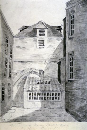 Church of St Alfege, London Wall, London, 1805--Giclee Print