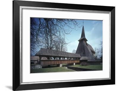 Church of St. Bartholomew the Apostle, at Koci, Eastern Bohemia, Czech Republic--Framed Photographic Print