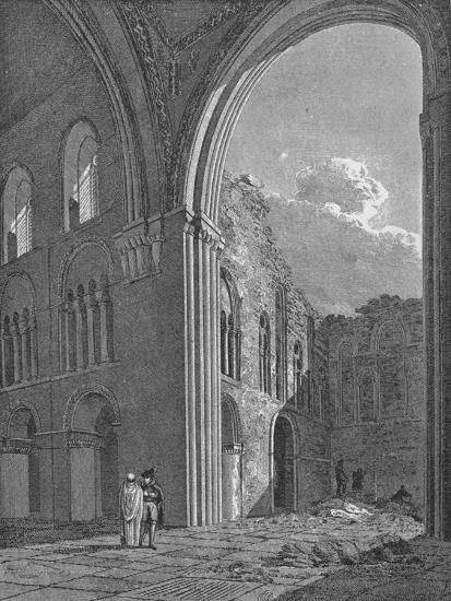 Church of St Bartholomew the Great in West Smithfield, City of London, 1822-Unknown-Giclee Print