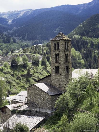Church of St. Climent De Pal, Pal, Andorra-Pearl Bucknall-Photographic Print