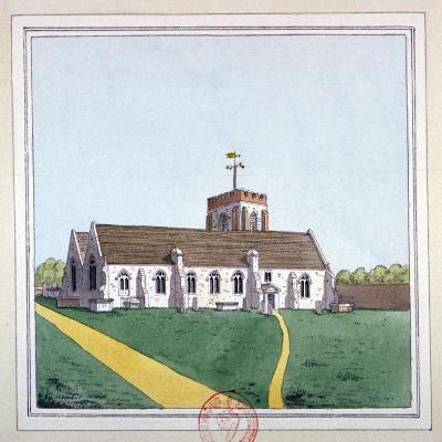 Church of St Edward the Confessor, Romford, Essex, C1800--Giclee Print