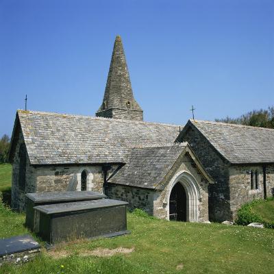 Church of St. Enodor, Rock, Cornwall, England, United Kingdom, Europe-Michael Jenner-Photographic Print