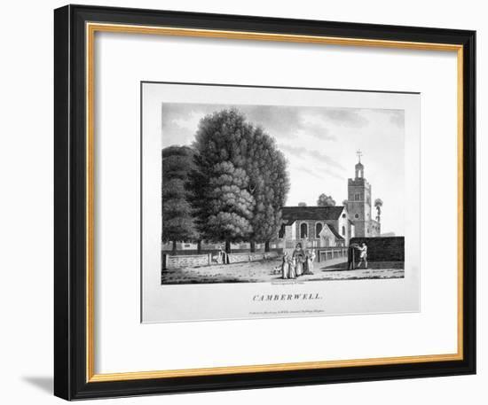 Church of St Giles, Camberwell, London, 1792-William Ellis-Framed Premium Giclee Print