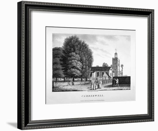 Church of St Giles, Camberwell, London, 1792-William Ellis-Framed Giclee Print