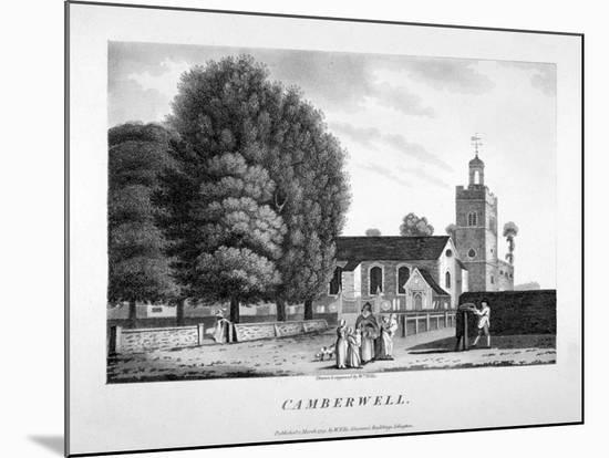 Church of St Giles, Camberwell, London, 1792-William Ellis-Mounted Giclee Print