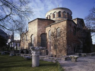 Church of St Irene, 6th-8th Century Byzantine Church, Historic Areas of Istanbul--Photographic Print