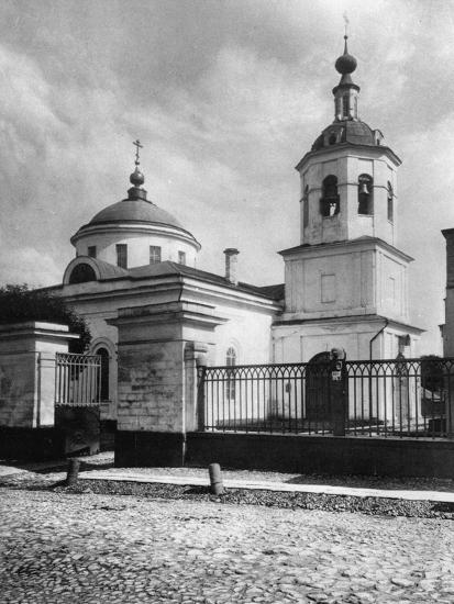 Church of St James the Apostle, Kazennaya, Moscow, Russia, 1881- Scherer Nabholz & Co-Photographic Print