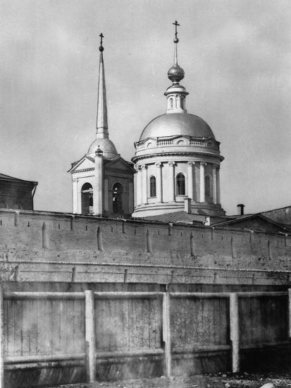 Church of St John Chrysostom under the Elm, Moscow, Russia, 1881- Scherer Nabholz & Co-Photographic Print