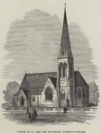 Church of St John the Evangelist, Kingston-On-Thames--Giclee Print