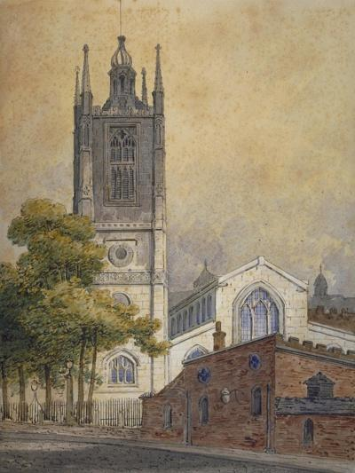 Church of St Margaret, Westminster, London, C1810-William Pearson-Giclee Print