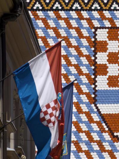 Church of St. Mark, Zagreb, Croatia, Europe-Lawrence Graham-Photographic Print