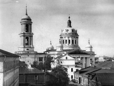 Church of St Martin the Confessor, Pope of Rome, Alexeevskaya, Moscow, Russia, 1882- Scherer Nabholz & Co-Photographic Print
