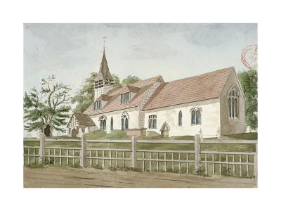 Church of St Mary, Norwood, Middlesex, C1800--Giclee Print