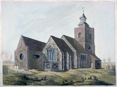Church of St Mary the Virgin, Leyton, Waltham Forest, London, 1799--Giclee Print