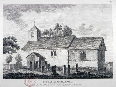 Church of St Mary the Virgin, Little Ilford, Newham, London, 1809--Giclee Print