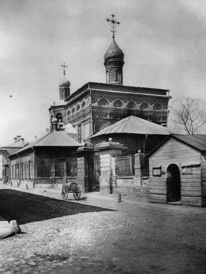 Church of St Michael the Archangel, Ovchinniki, Moscow, Russia, 1881- Scherer Nabholz & Co-Photographic Print