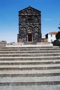 Church of St Nicholas, 12th Century, Pisan-Romanesque Style, Ottana, Sardinia, Italy