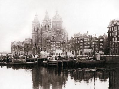 Church of St Nicholas Inside the Walls, Amsterdam, 1898-James Batkin-Photographic Print