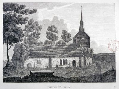 Church of St Nicholas, Loughton, Essex, 1809--Giclee Print