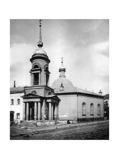 Church of St Nicholas the Miracle Maker, Gnezdniki, Near Tverskaya Street, Moscow, Russia, 1881- Scherer Nabholz & Co-Giclee Print