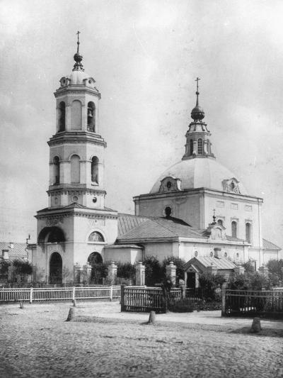 Church of St Nicholas the Miracle Maker, Kobylskoye, Moscow, Russia, 1882- Scherer Nabholz & Co-Photographic Print