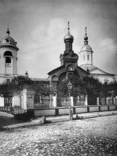 Church of St Nicholas the Miracle Maker, Near Sretensky Boulevard, Moscow, Russia, 1881- Scherer Nabholz & Co-Photographic Print