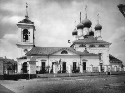 Church of St Nicholas the Miracle Maker, Near the Smolensk Market, Moscow, Russia, 1882- Scherer Nabholz & Co-Photographic Print
