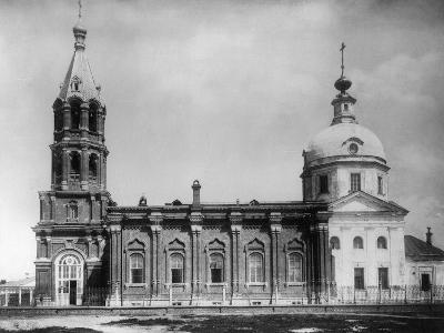 Church of St Nicholas the Miracle Maker, New Vagankovo, Moscow, Russia, 1882- Scherer Nabholz & Co-Photographic Print