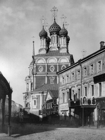 Church of St Nicholas the Miracle Maker (The Big Cros), Moscow, Russia, 1881- Scherer Nabholz & Co-Photographic Print