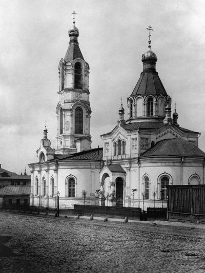 Church of St Nicholas the Miracle Maker, Yamy, Moscow, Russia, 1881- Scherer Nabholz & Co-Photographic Print