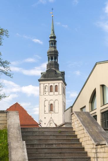 Church of St. Nikolas, Tallinn, Estonia, Baltic States-Nico Tondini-Photographic Print