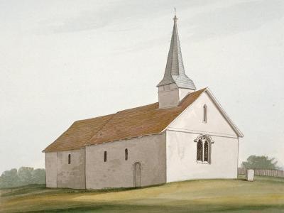 Church of St Peter and St Paul, Stondon Massey, Essex, C1800--Giclee Print
