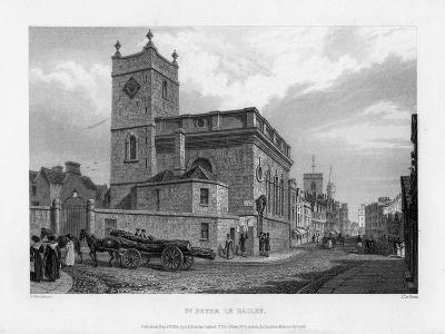 Church of St Peter Le Bailey, Oxford, 1835-John Le Keux-Giclee Print