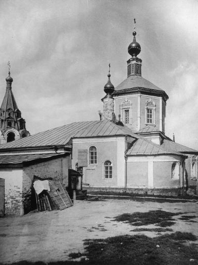 Church of St Stephen the Protomartyr, Beside the Yauza River, Moscow, Russia, 1881- Scherer Nabholz & Co-Photographic Print