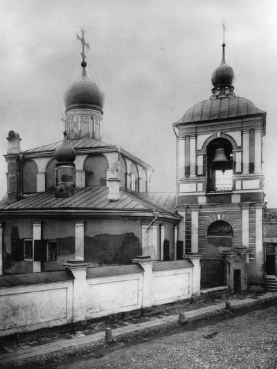 Church of the Conception of St Anna, Moscow, Russia, 1881- Scherer Nabholz & Co-Photographic Print