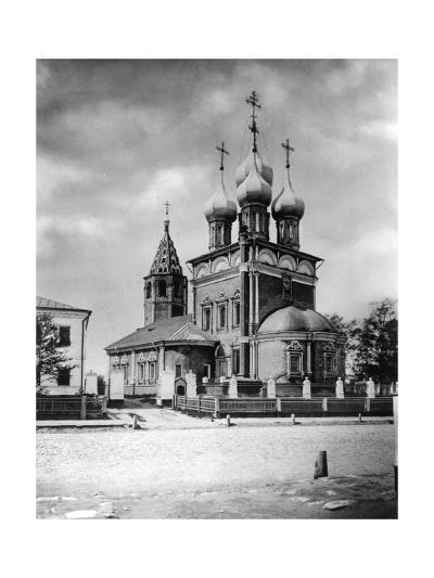 Church of the Deposition of the Robe, Moscow, Russia, 1882- Scherer Nabholz & Co-Giclee Print