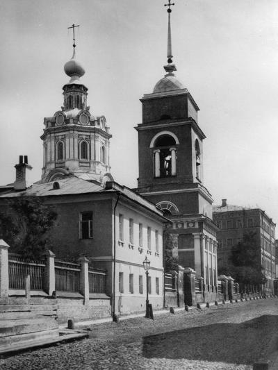 Church of the Entry of the Most Holy Theotokos into the Temple, Moscow, Russia, 1881- Scherer Nabholz & Co-Photographic Print