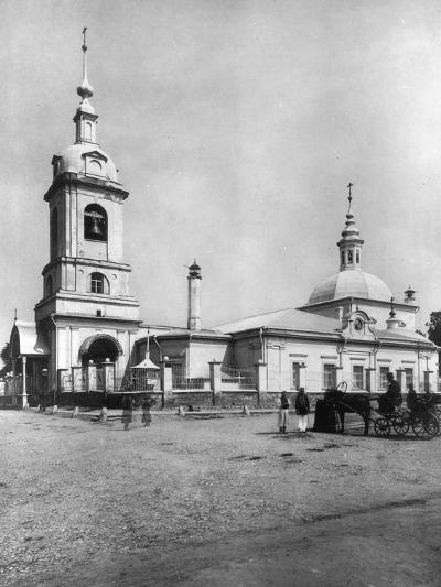 Church of the Forty Martyrs of Sebaste, Moscow, Russia, 1882- Scherer Nabholz & Co-Photographic Print