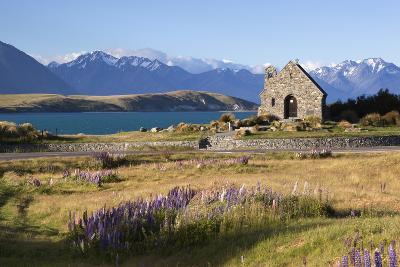 Church of the Good Shepherd, Lake Tekapo, Canterbury Region, South Island, New Zealand, Pacific-Stuart Black-Photographic Print