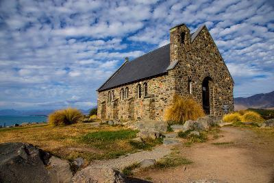 Church of the Good Shepherd, Lake Tekapo, South Island, New Zealand, Pacific-Suzan Moore-Photographic Print