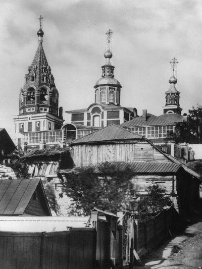 Church of the Holy Martyr Nikita, Moscow, Russia, 1881- Scherer Nabholz & Co-Photographic Print