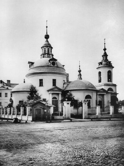 Church of the Holy Martyrs Cosmas and Damian, Pokrovka Street, Moscow, Russia, 1881- Scherer Nabholz & Co-Photographic Print