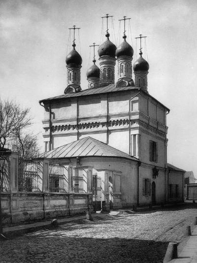 Church of the Holy Miracle Makers of Chernigov, Moscow, Russia, 1881- Scherer Nabholz & Co-Photographic Print